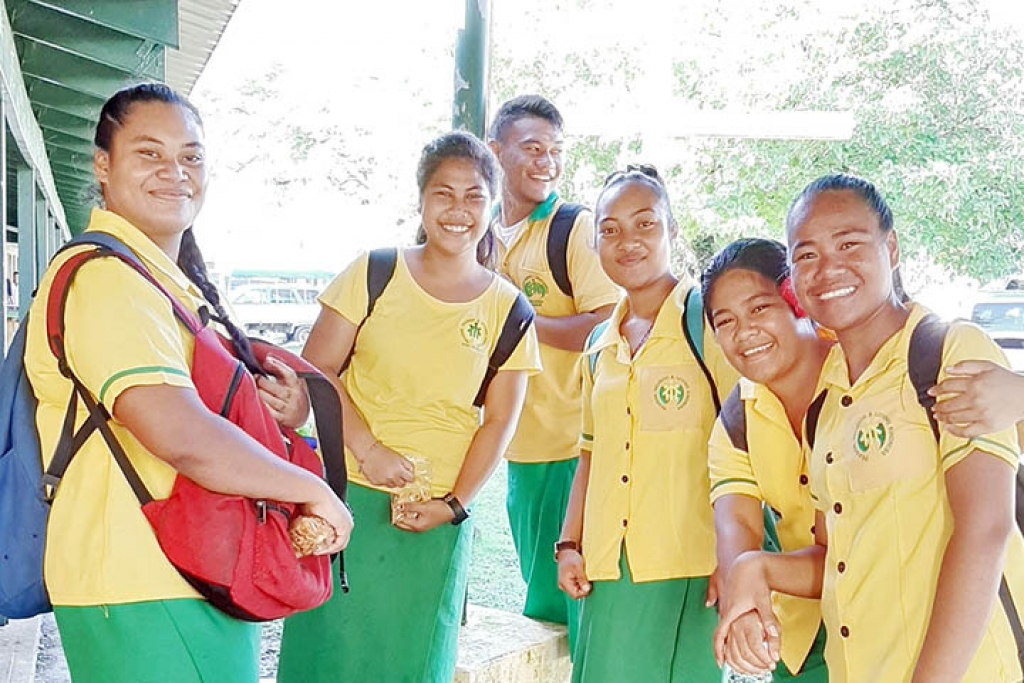 "Samoa – First female students of ""Don Bosco"" Technical Center in Alafua"