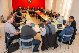 Italy – GC28: Prayer, meditation, discussion in regional groups to explore chapter experience