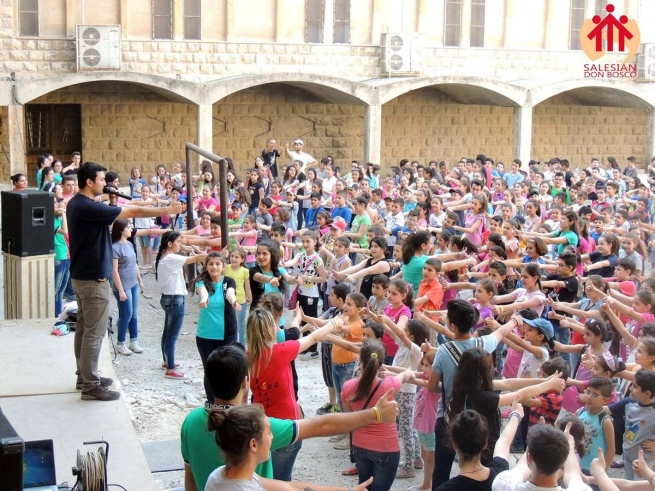 Syria – The War continues, but the Salesian Summer Activities are back