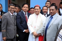 India – A memorable pastoral visit: Cardinal Bo, SDB, in North East India