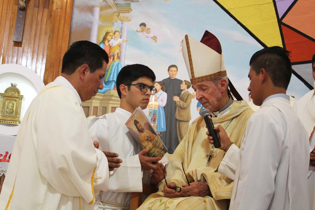 Bolivia - Priestly Ordination of Salesian José María Zambrana Omonte