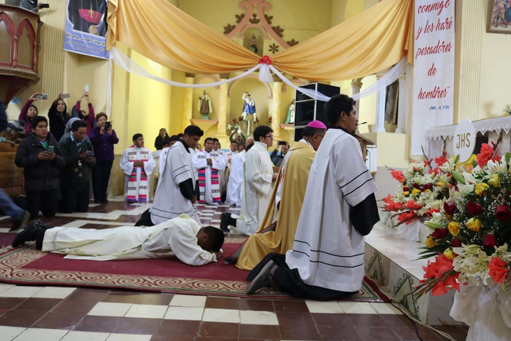 Bolivia - Priestly ordination of Salesian Irineo Machaca