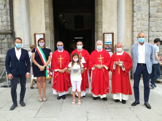 Italy - City of Omegna dedicates square to Venerable Fr Andrea Beltrami