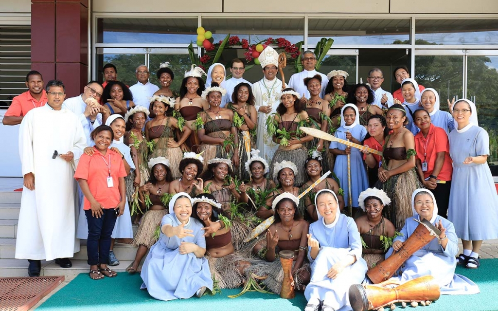 Papua New Guinea - 25th anniversary of foundation Sisters of Charity of Jesus school