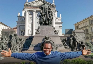 Italy – Chennor fulfills his dream: Visits the Don Bosco's Native