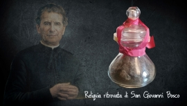 "RMG - Recovered the relic of Don Bosco. ""We thank God and all those who have helped and supported us"""