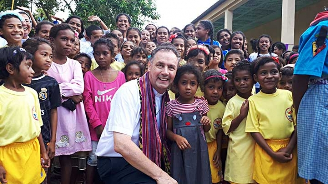 "East Timor – ""You, as Salesian young people, have to do something more valuable"""