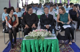 Cambodia – Schneider Electric and Salesians work together to benefit youngsters