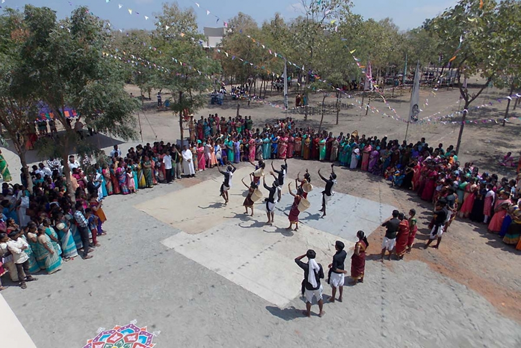 India – 1,200 people at inauguration of Tiruchy Women's Emancipation Center