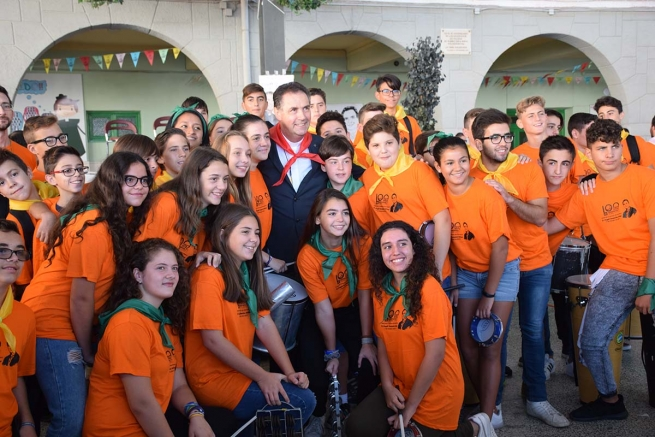 Spain - Rector Major special guest in 100-Year celebration of Salesian presence in Villena