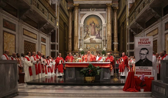 Italy - Eucharist in honor of blessed Fr Titus Zeman, SDB