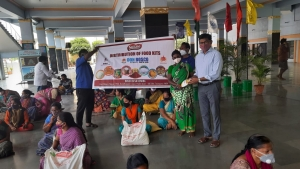India – Salesian Family in Hyderabad: ambulance and many initiatives for Covid-19 patients and needy
