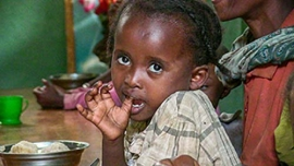 Ethiopia - Food support for Abeba and her sisters