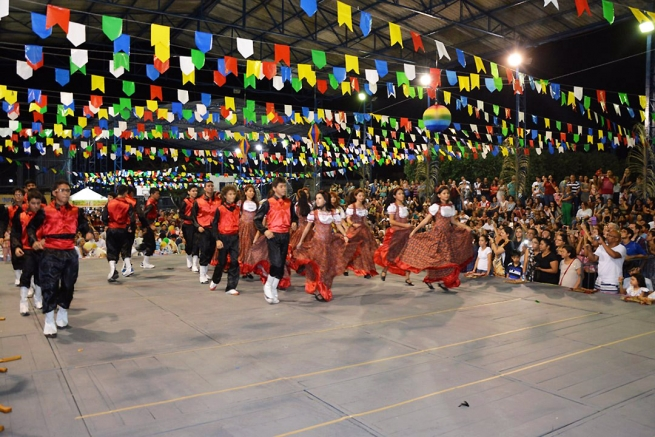 "Brazil - ""Junina"" Feast in the Salesian community"