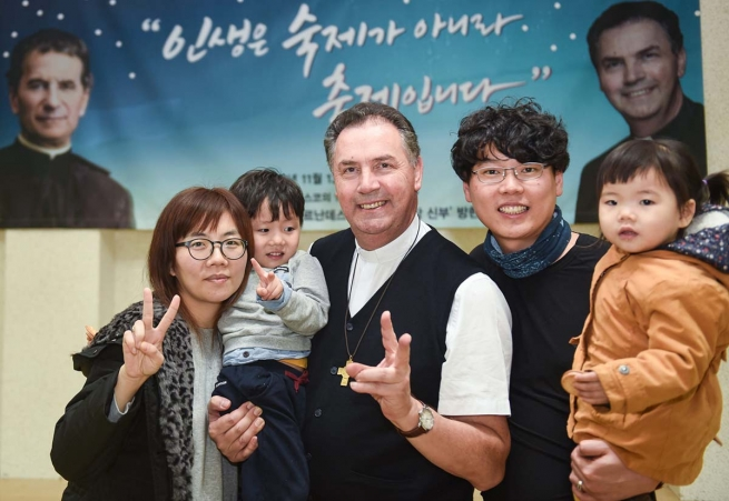 South Korea – A family day for the Rector Major, with all the Salesians