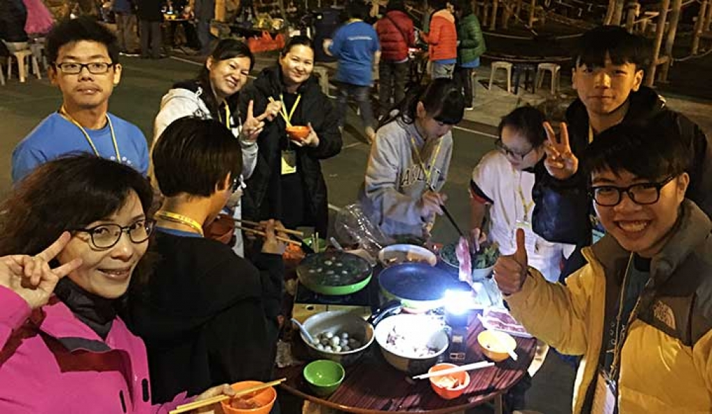 Hong Kong - Camping for children and parents