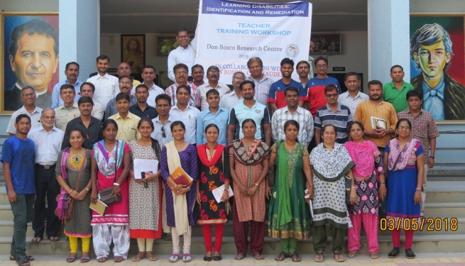 India – Teachers explore Learning Disabilities at Don Bosco Chhota