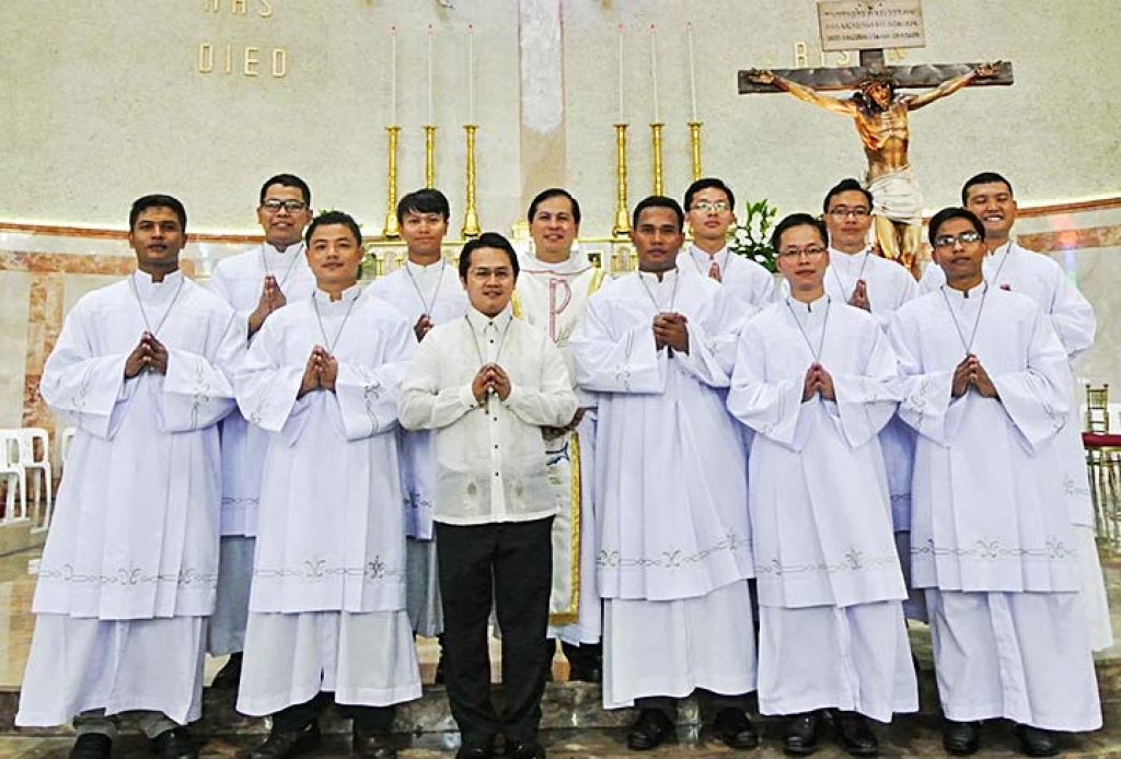 Philippines - Perpetual Professions of 11 Salesians