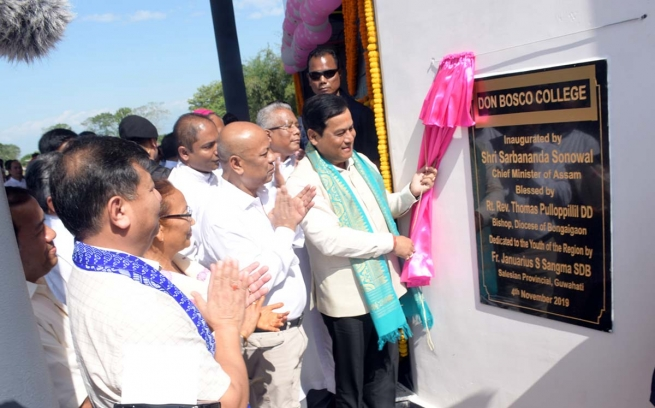 India – Assam CM inaugurates 4th Don Bosco College