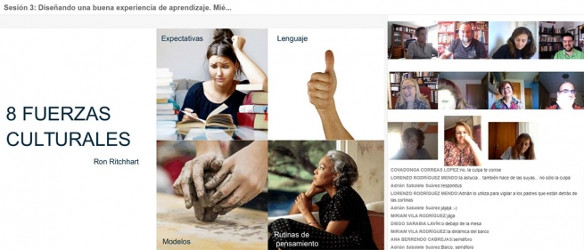 Spain – Distance teaching training exceeds all expectations: over 400 teachers trained in June
