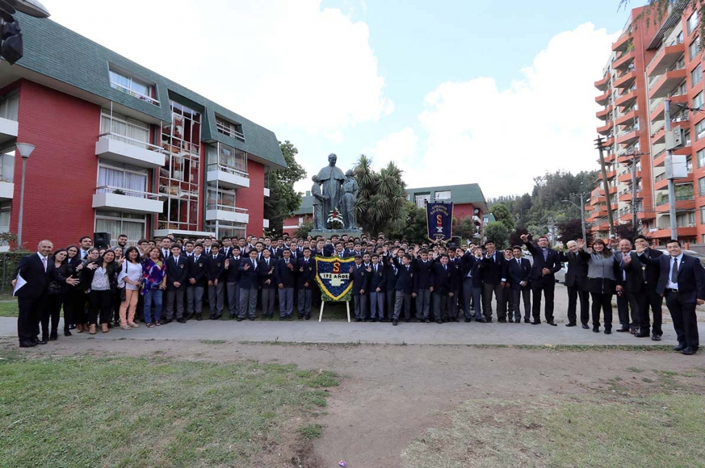 Chile - Celebrations for 132 years of Salesian College of Concepción