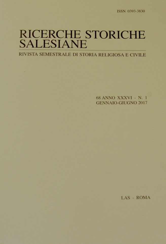 "RMG - Published no. 68 of ""Salesian Historical Research"""
