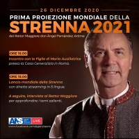 RMG – World Première of Rector Major's 2021 Strenna
