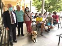 Italy - First post-Covid summer campus for blind children at Don Bosco Institute in Florence
