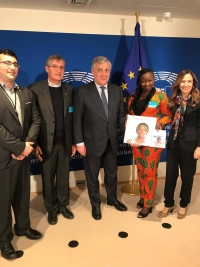 Belgium – Augusta: voice of Don Bosco Fambul girls in European Parliament