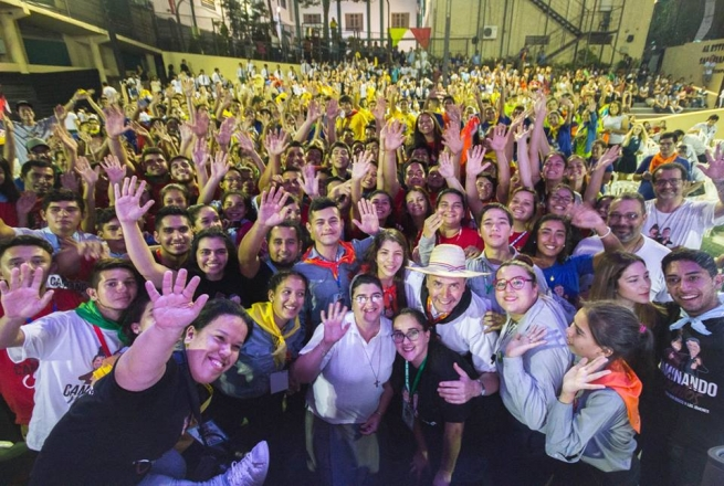"Paraguay - Rector Major to the young: ""Do not be afraid to find out what God wants from you"""