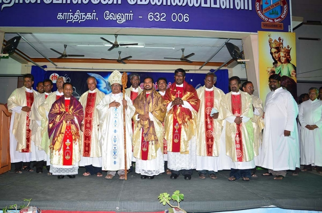 India - Three Salesian priests ordained in Madras