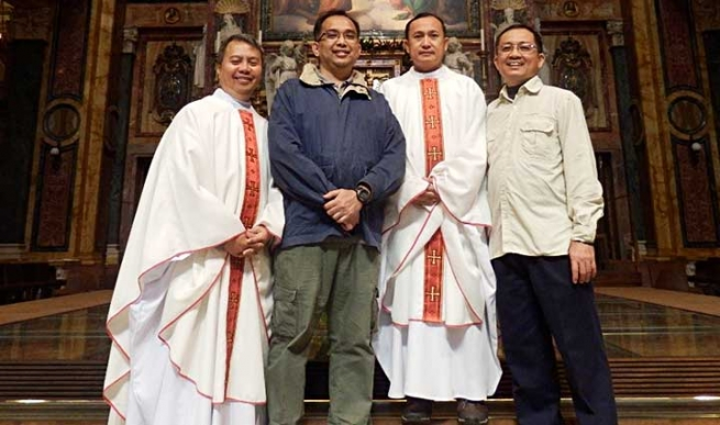 The Philippines – The joyful experience of Bros. Ed Villordon and Manny Gacayan