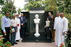 India – Memory of Fr Aurelius Maschio honoured with bust & museum