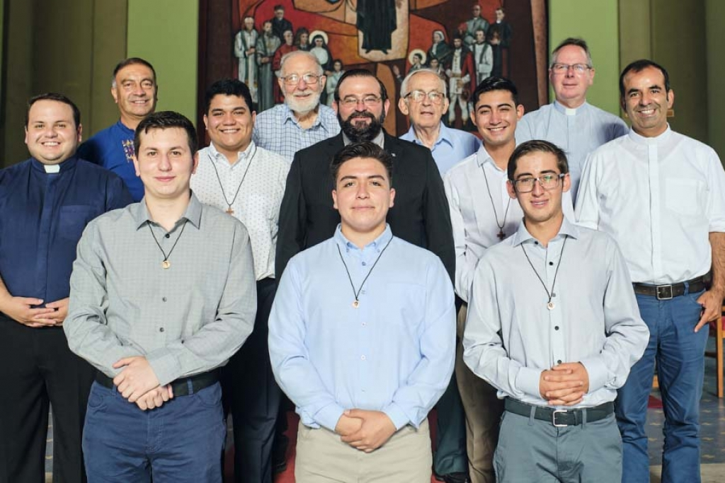 Chile - Five young people begin their experiences of Salesian aspirantate and pre-novitiate