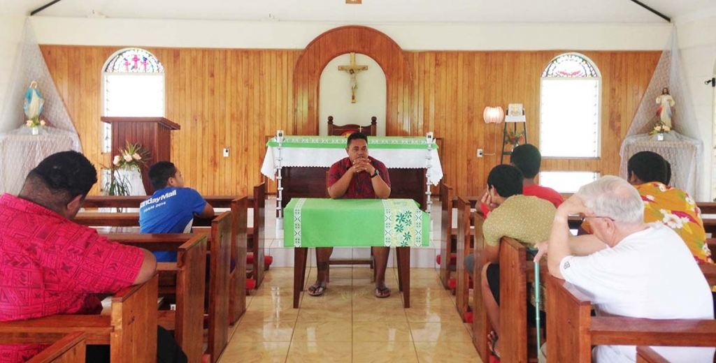 Samoa - Vocational day in Salesian community of Salelologa