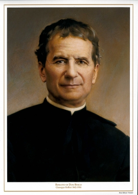 Turin - 129 years ago: he died a saint, Don Bosco, who loved both God and young people.