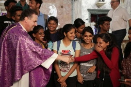 "India - The Rector Major: ""Imagine for a moment if the Salesian Family did not exist ..."""