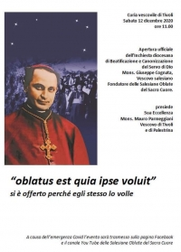 Italy – Opening of diocesan inquiry into Cause of Msgr. Giuseppe Cognata, SDB