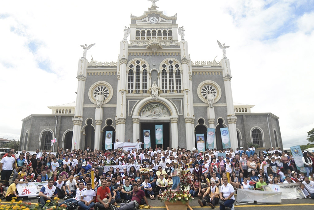 Costa Rica - Pilgrimage of Salesian Family to Basilica of Our Lady of Angels