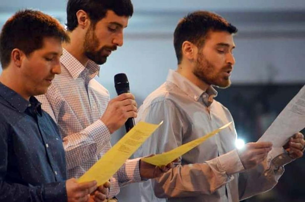 Argentina - Perpetual professions of three Salesians