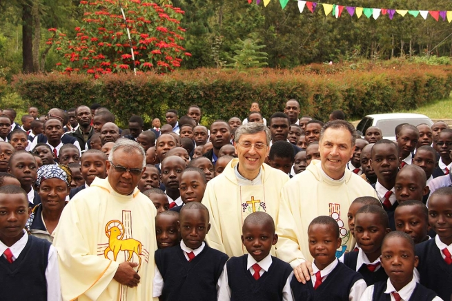"Tanzania – Rector Major to the youth: ""you give me hope for the future"""