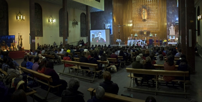 "Spain – ""Prayers for Peace"": youth of Spain and Syria united in prayer vigil"