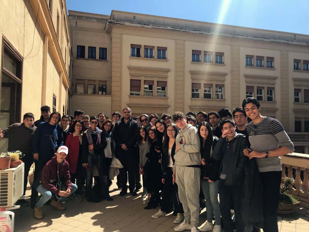 Italy - Sicily-Tunisia cultural linguistic twinning at Don Bosco Ranchibile in Palermo